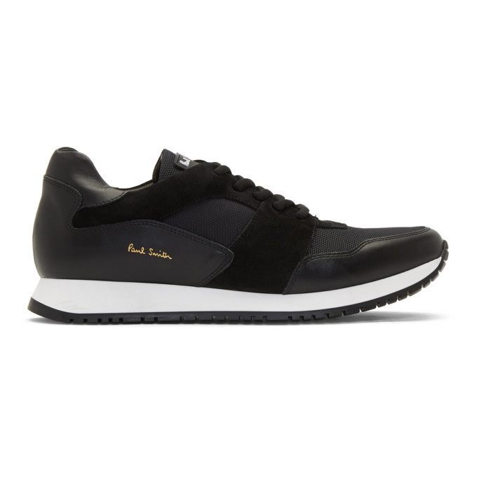 Photo: Paul Smith Black Pioneer Sneakers