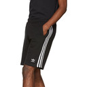 adidas Originals Black 3-Stripe Shorts
