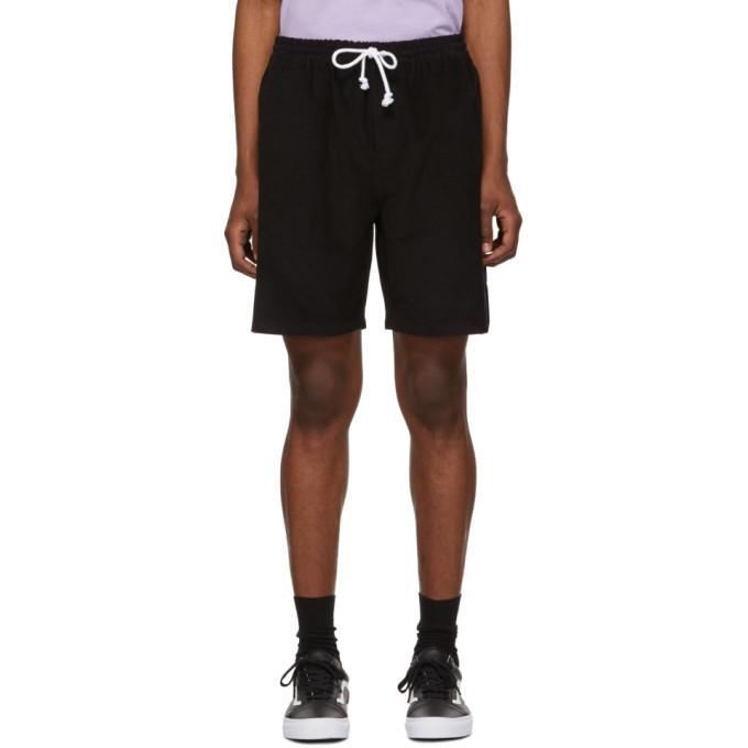 Photo: Noah NYC Black Corduroy Drawstring Shorts