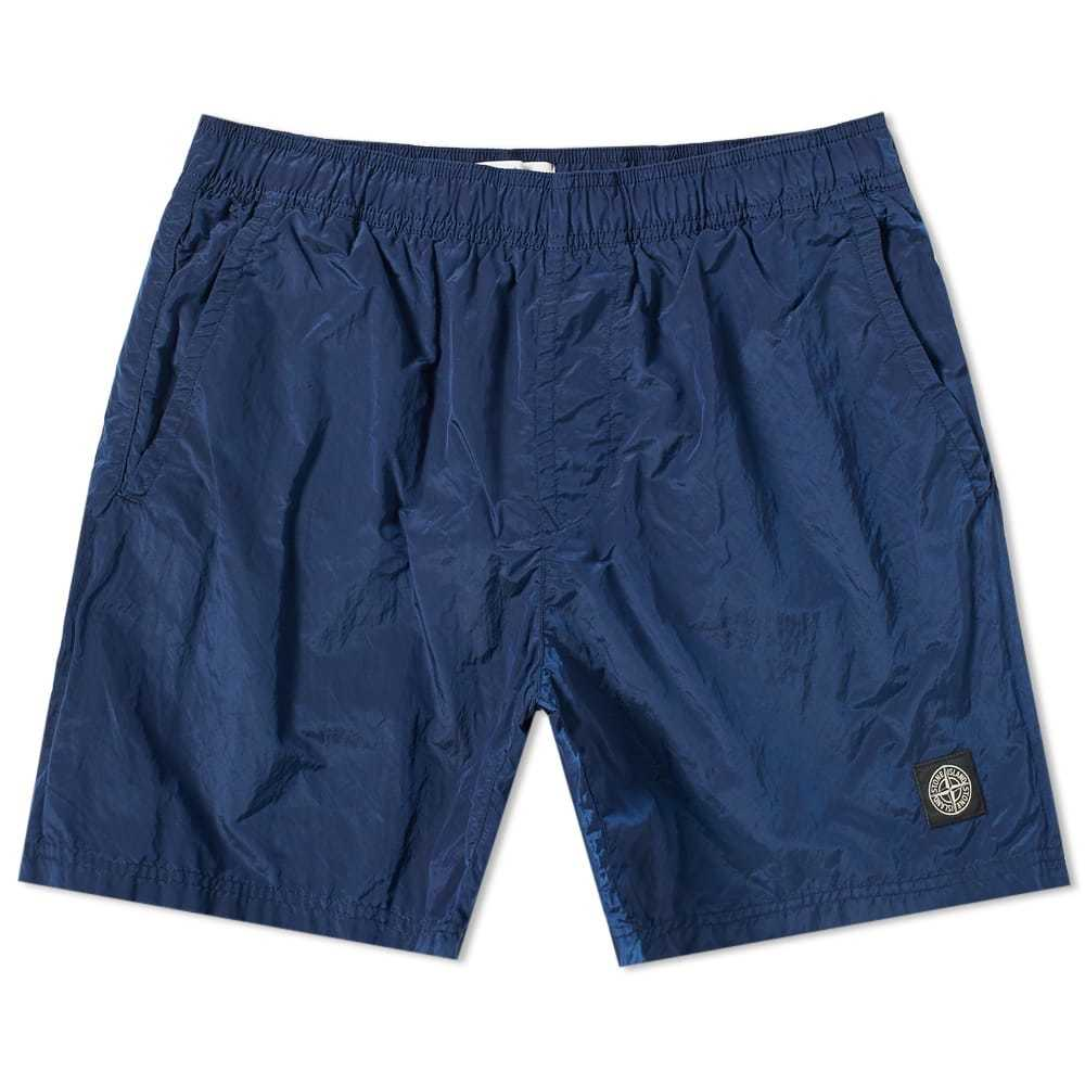 Photo: Stone Island Nylon Metal Patch Logo Swim Short