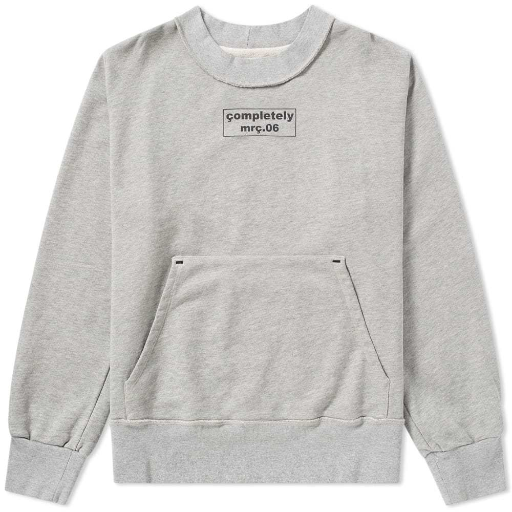 Photo: Mr. Completely Front & Back Box Logo Crew Sweat