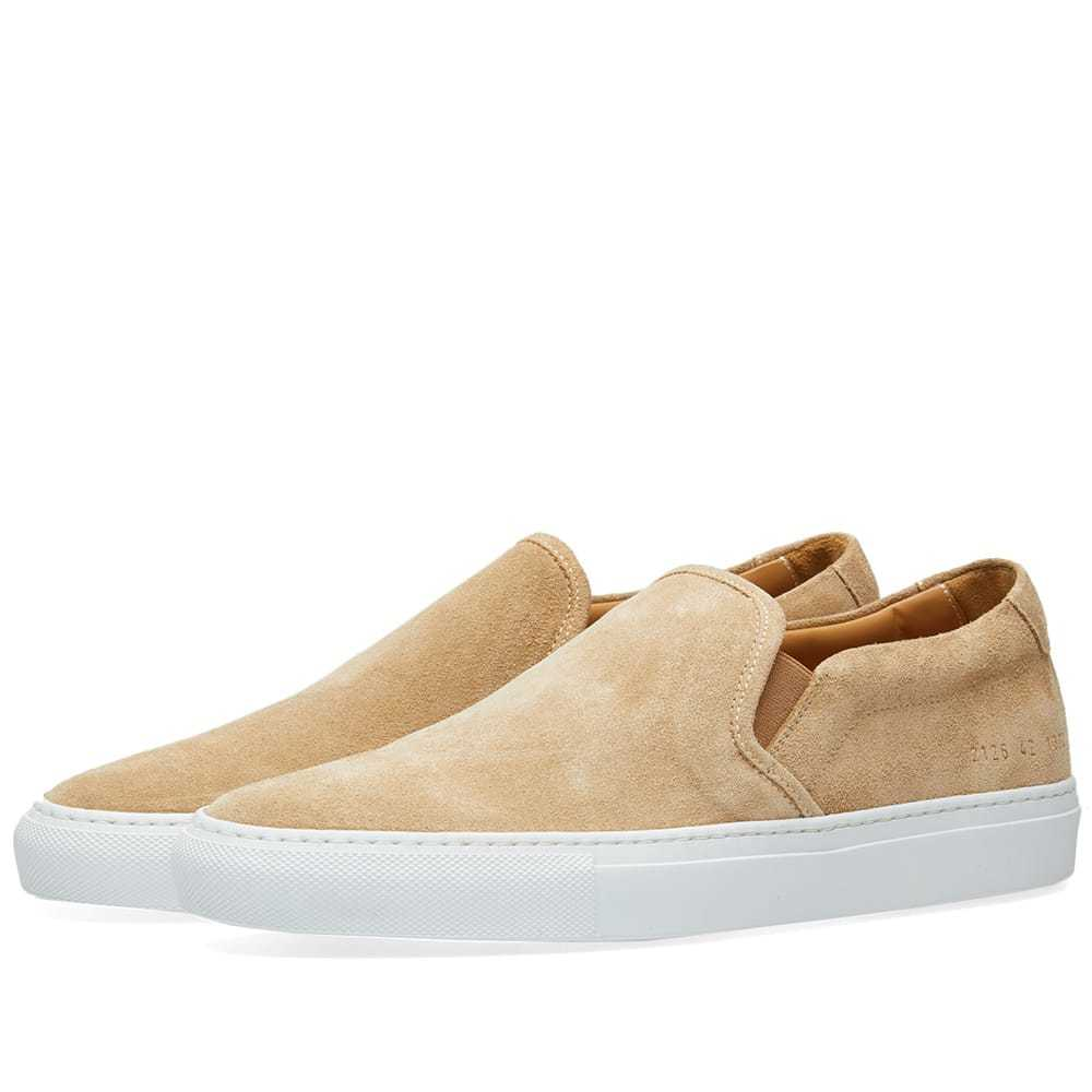 Photo: Common Projects Slip On Suede Brown