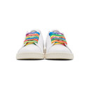 Stella McCartney White and Multicolor adidas Originals Edition Stan Smith Sneakers