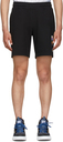 MCQ Black Sweat Shorts