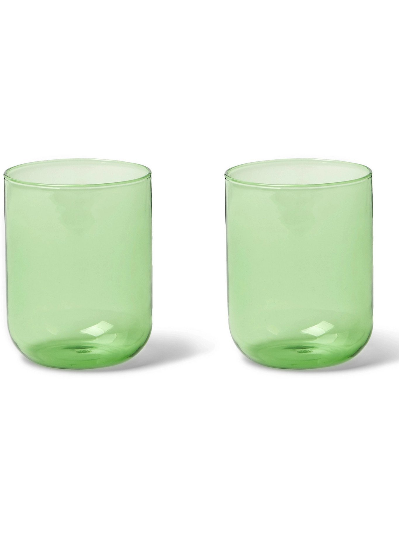 Photo: HAY - Tint Set of Two Glass Tumblers