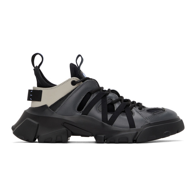 Photo: MCQ Grey Orbyt Descender Sneakers