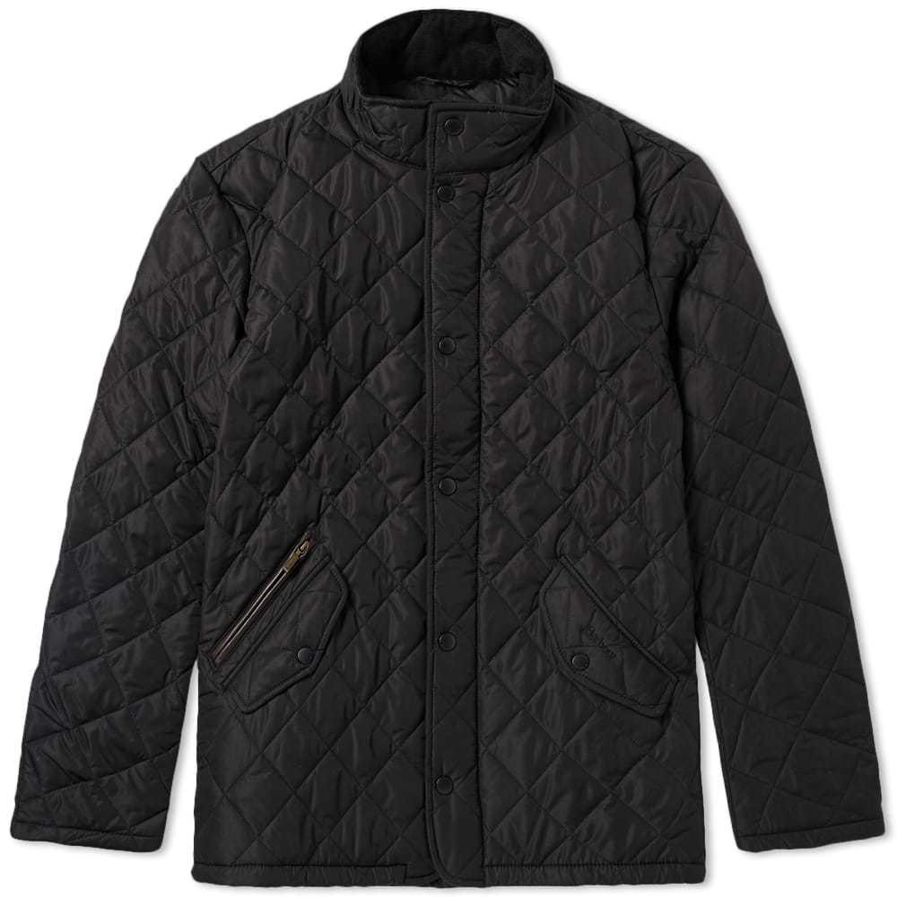 Photo: Barbour Chelsea Sportsquilt Jacket Black