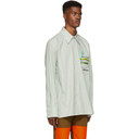 Botter Green Reinier Stripe Shirt