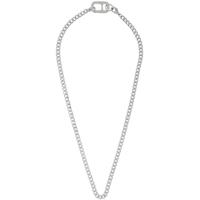 Photo: A.P.C. Silver Ethan Necklace