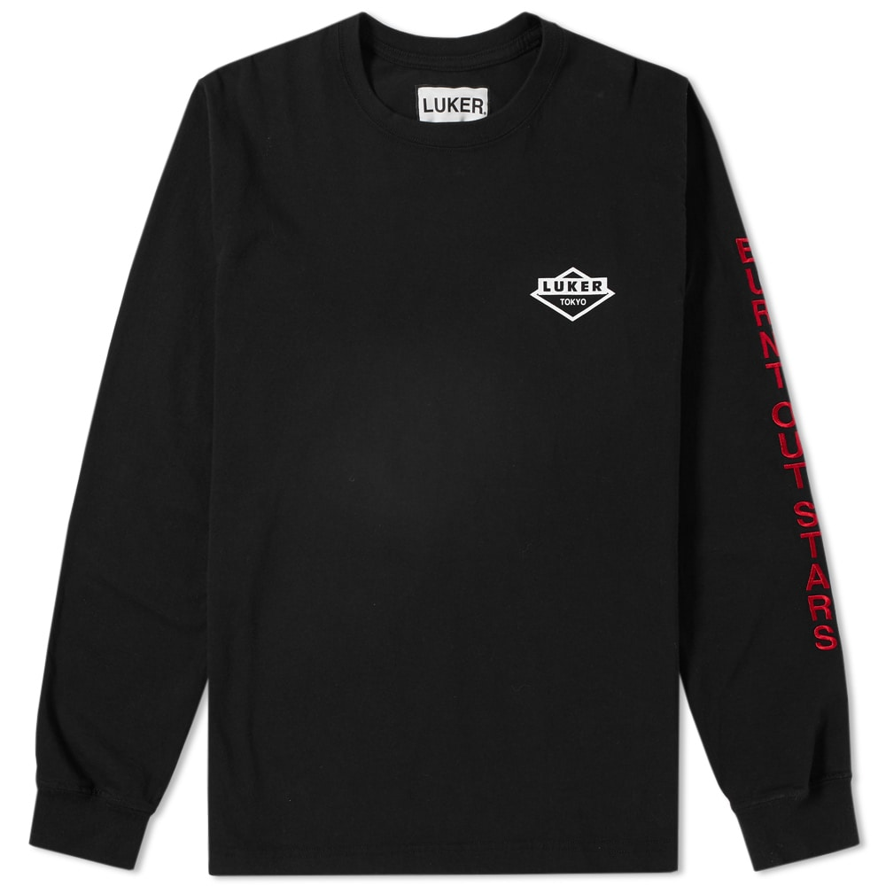 Photo: Luker by Neighborhood Long Sleeve Burnt Out Tee