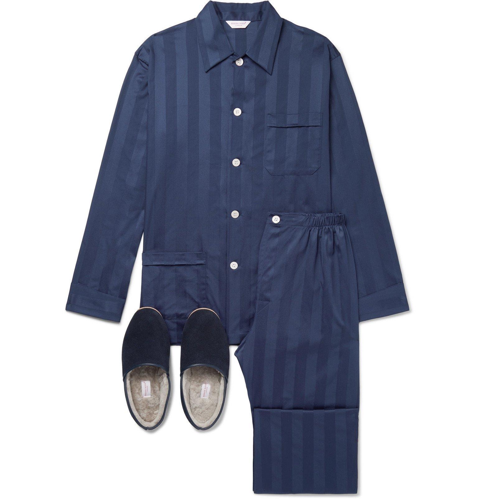 Photo: Derek Rose - Sleepwear Gift Set - Blue