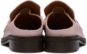 Martine Rose Pink Loafer Mules