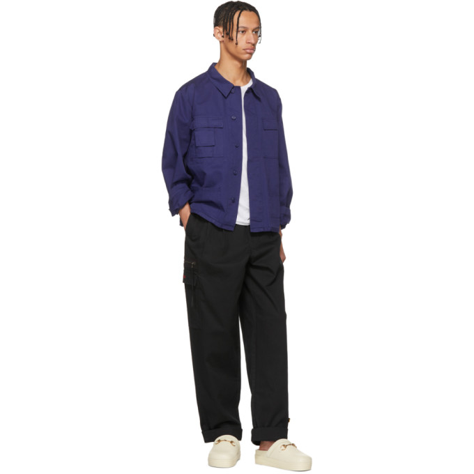 032c Black BMC Cargo Pants