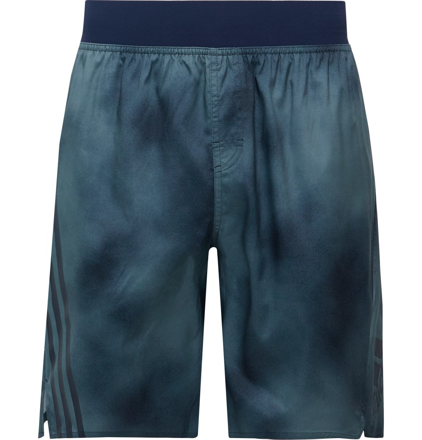Photo: Adidas Sport - Printed Shell Shorts - Gray