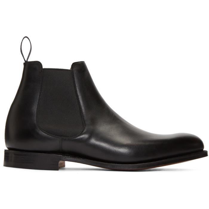 Photo: Churchs Black Houston Chelsea Boots