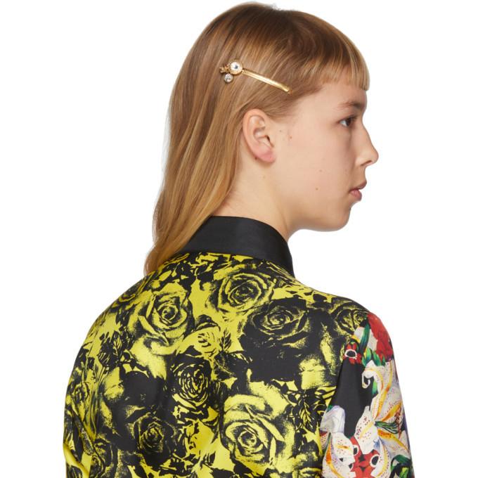 Versace SSENSE Exclusive Gold Tribute Hair Clip