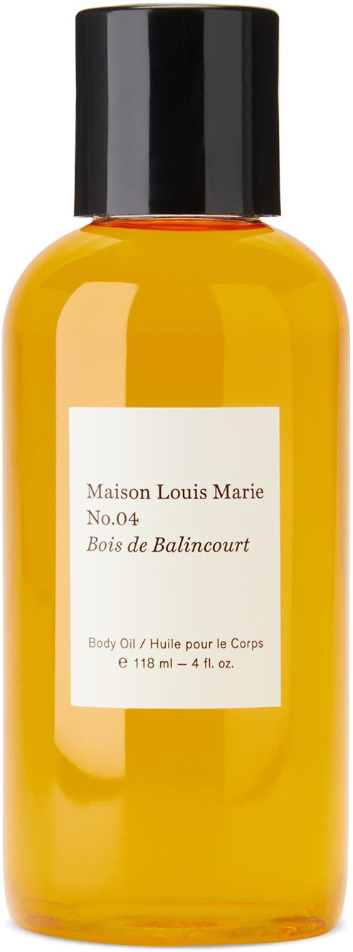 Photo: Maison Louis Marie No. 04 Bois De Balincourt Body Oil, 118 mL