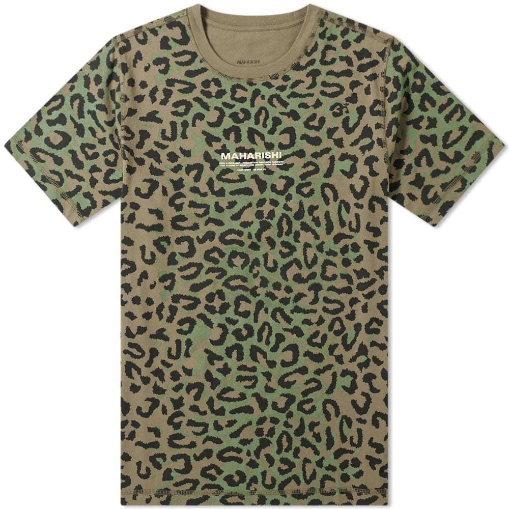 Photo: Maharishi Leopard Camo Tee