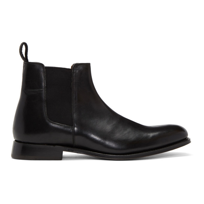 Photo: Grenson Black Declan Boots