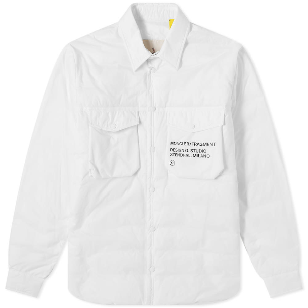 Photo: Moncler Genius - 7 Fragment Down Shirt Jacket