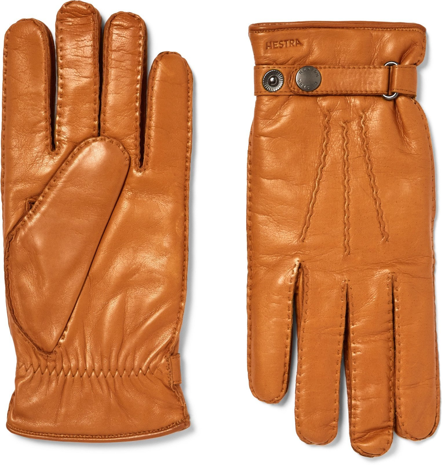 Photo: Hestra - Jake Wool-Lined Leather Gloves - Brown