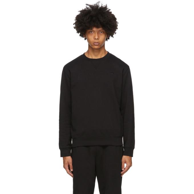 Photo: McQ Alexander McQueen Black Overlock Swallows Sweatshirt