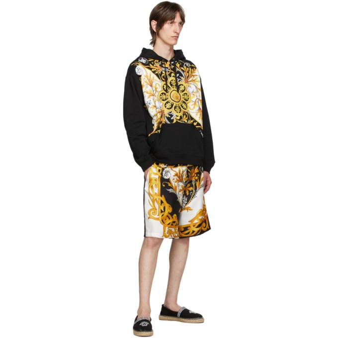 Versace Black Barocco Hoodie