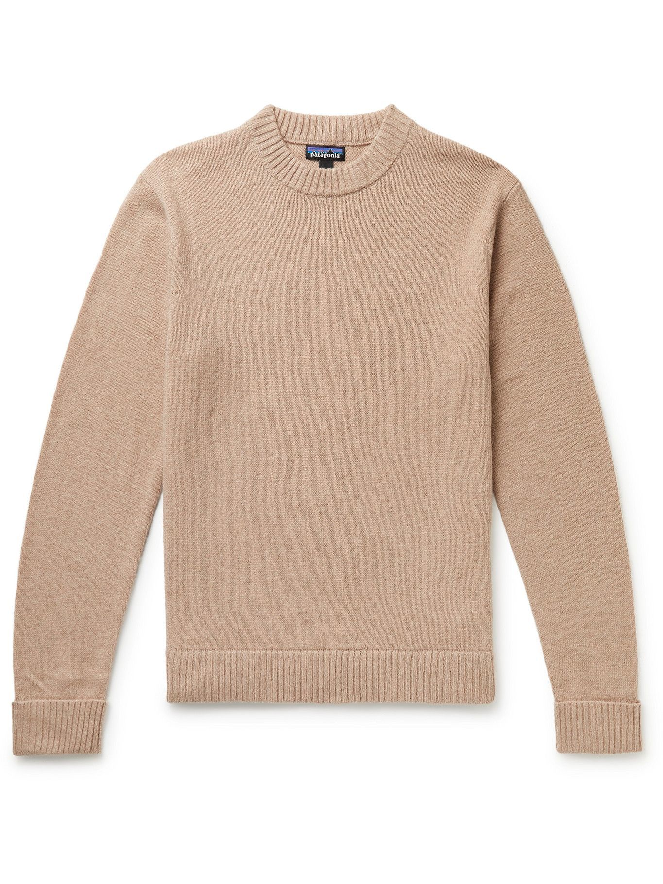 Photo: Patagonia - Recycled Nylon and Wool-Blend Sweater - Neutrals