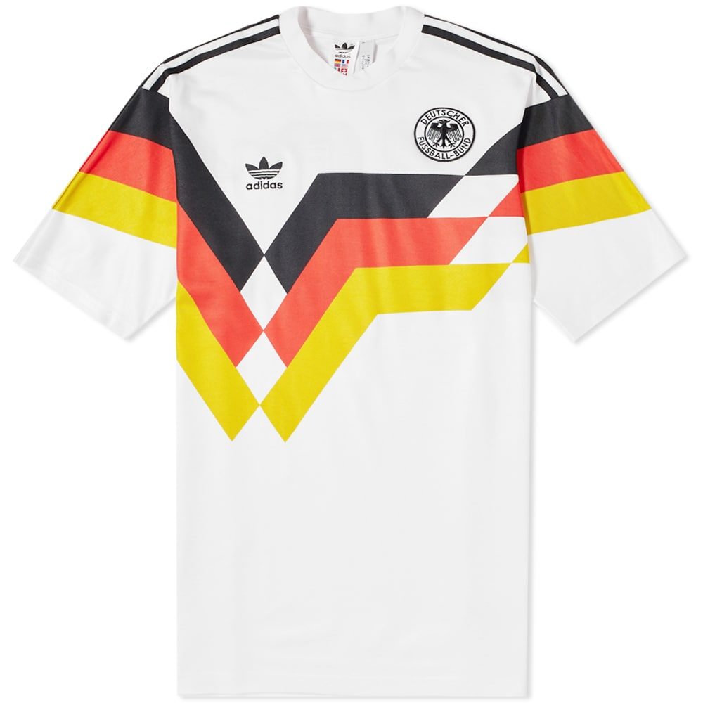 Adidas Germany Jersey Tee White