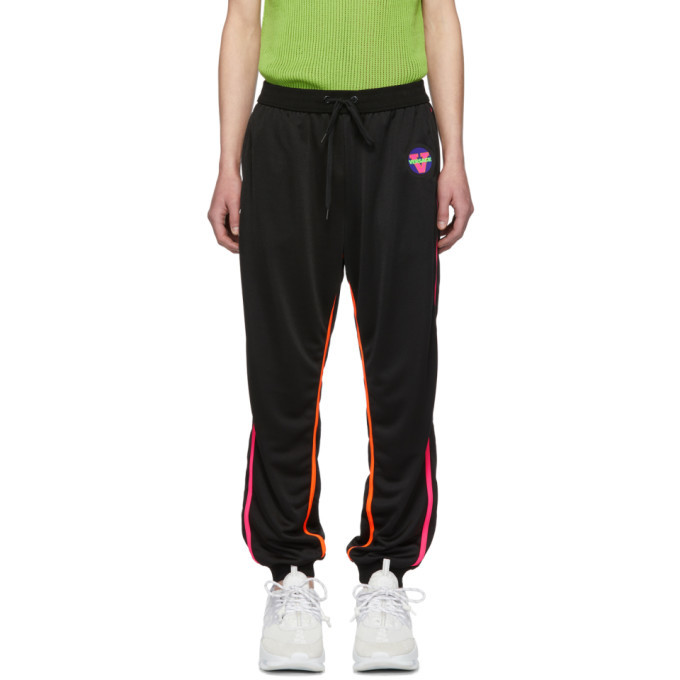 Photo: Versace Underwear Black Fluo Contrast Lounge Pants