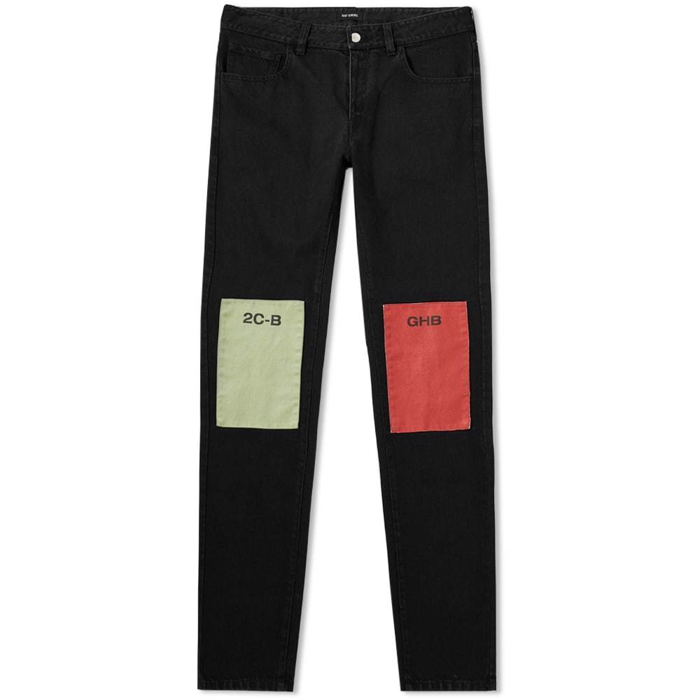 Photo: Raf Simons Patch Regular Fit Jean