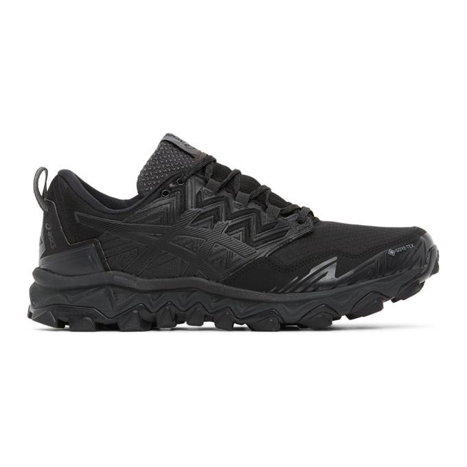 Photo: Asics Black GEL-FujiTrabuco 8 G-TX Sneakers