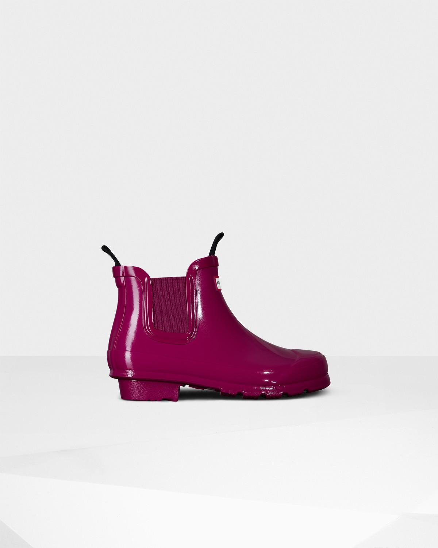 Photo: Original Kids' Gloss Chelsea Boots