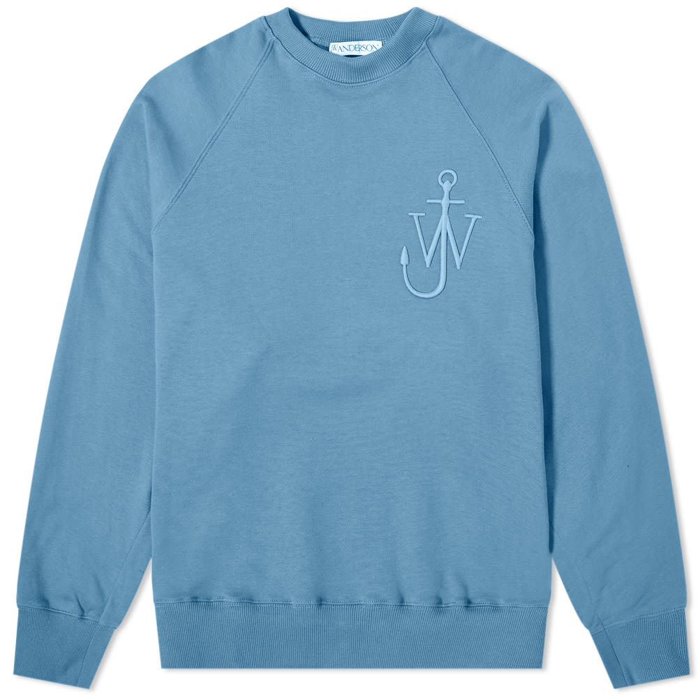 Photo: JW Anderson Oversized Button Sleeve Crew Sweat