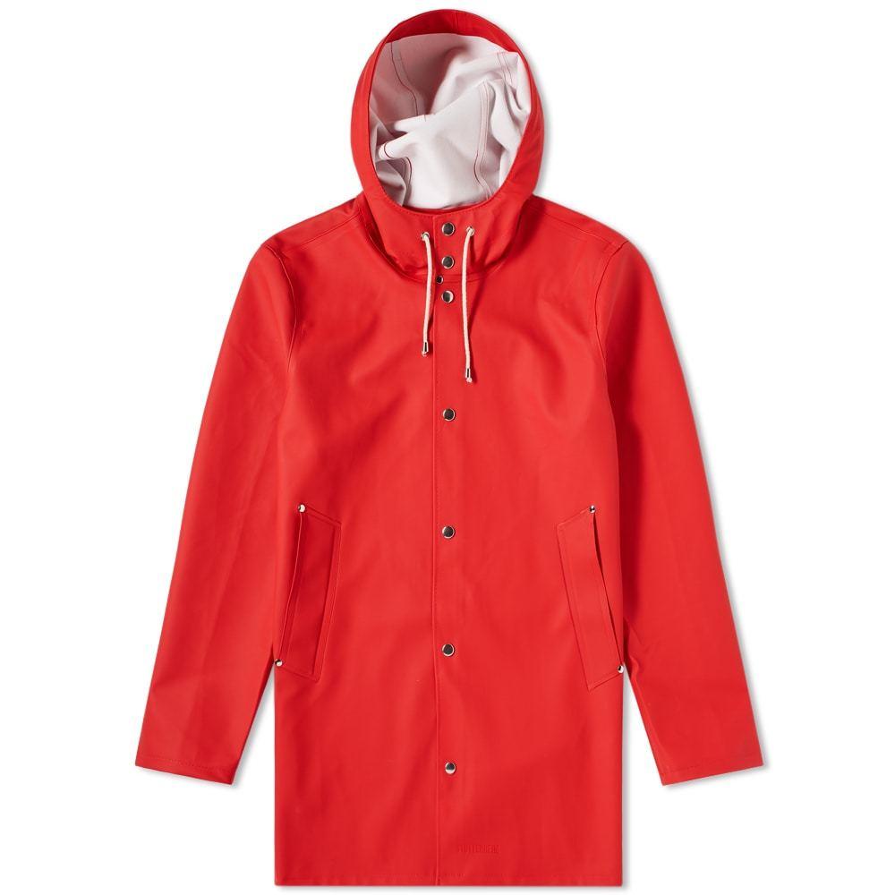 Photo: Stutterheim Stockholm Raincoat Red