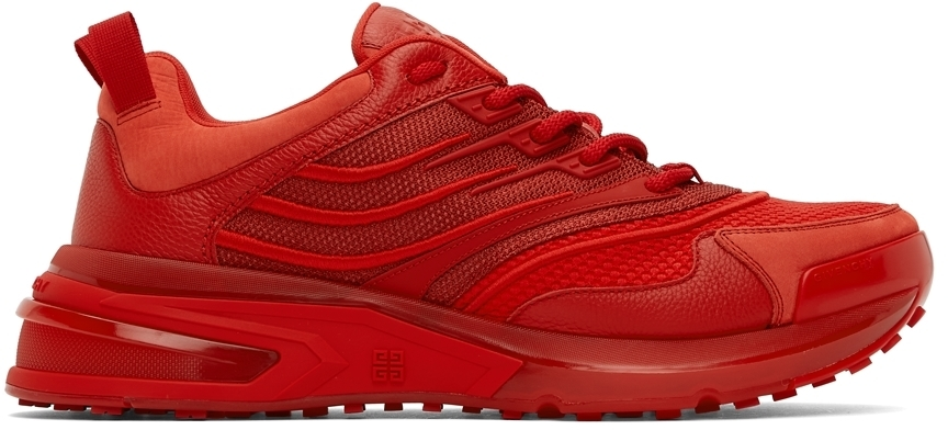Photo: Givenchy Red GIV 1 Sneakers