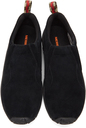 Merrell 1trl Black Suede Jungle Moc Slip-On Sneakers