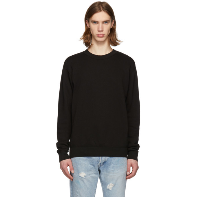 Photo: John Elliott Black Vintage Fleece Sweatshirt