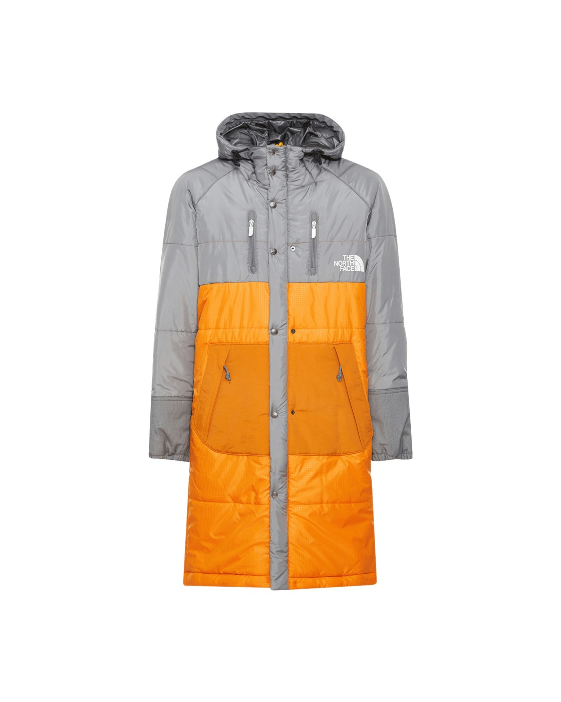 Photo: Junya Watanabe Man The North Face Padded Jacket Gray/Orange