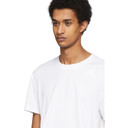 adidas Originals White Aero 3-Stripes T-Shirt