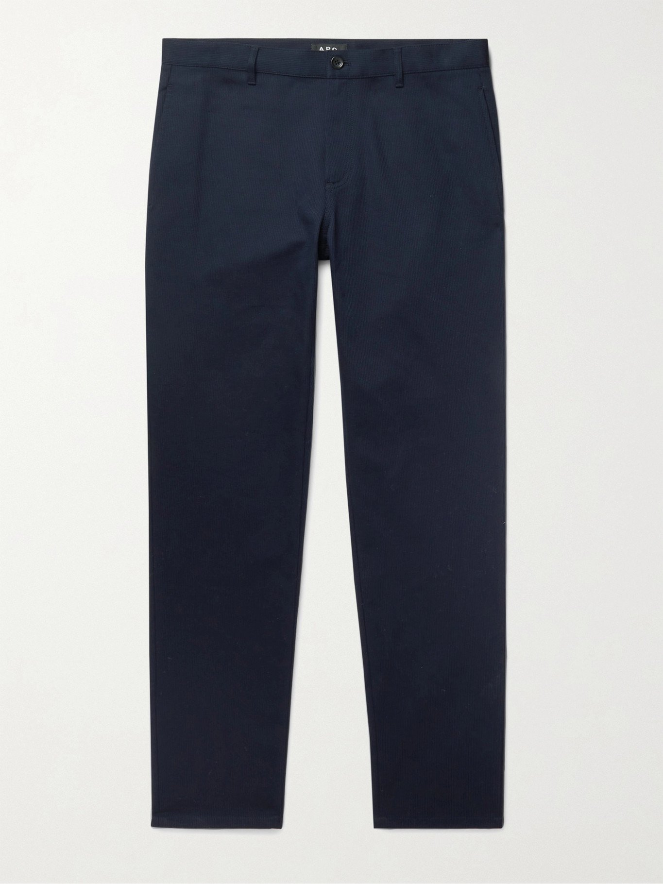 Photo: A.P.C. - Bedford Cotton Chinos - Blue