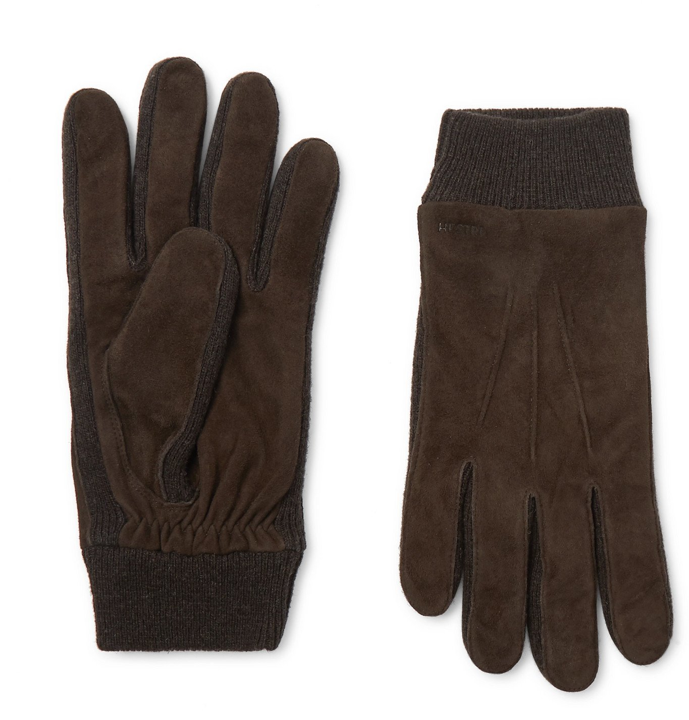Photo: Hestra - Geoffrey Suede Gloves - Brown