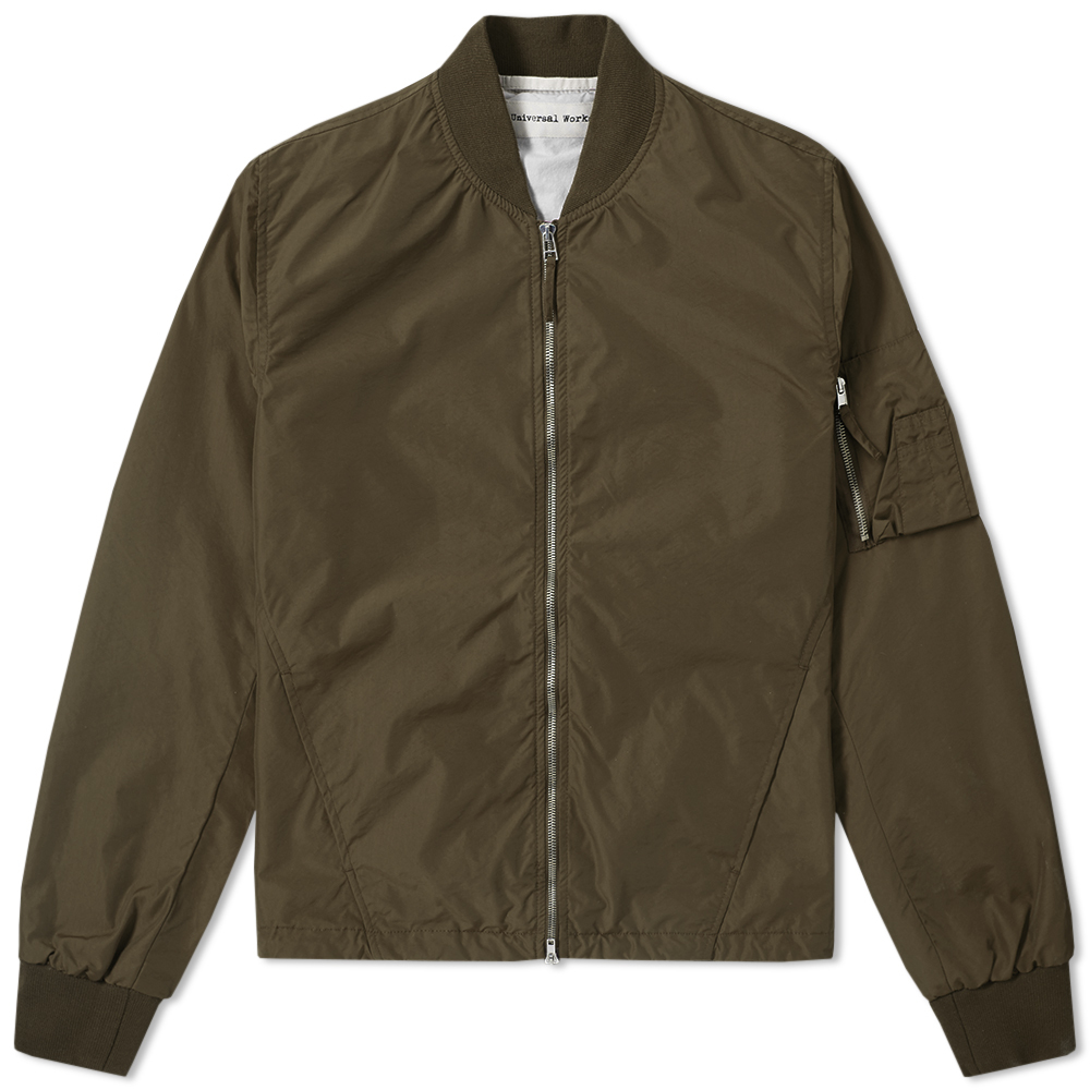 Photo: Universal Works MA-1 Bomber Jacket - END. Exclusive