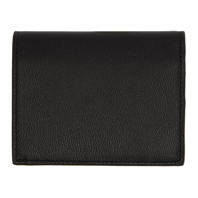 Versace Black Leather Icon Bifold Wallet