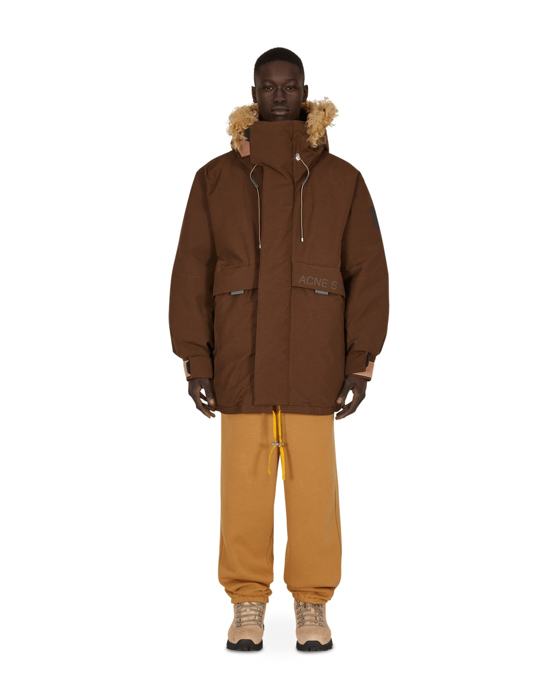 Photo: Acne Studios Down Filled Jacket Chocolate
