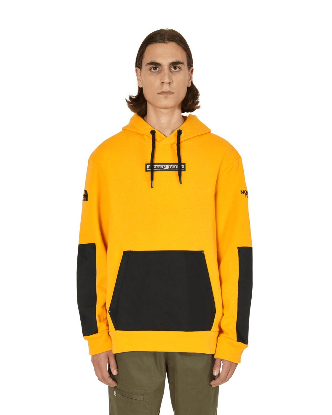 Photo: The North Face Black Series Graphic Sweatshirt Summit Gold/Tnf Black