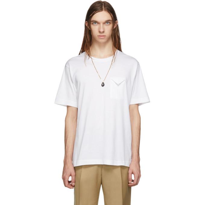 Photo: Bottega Veneta White Cotton Jersey T-Shirt