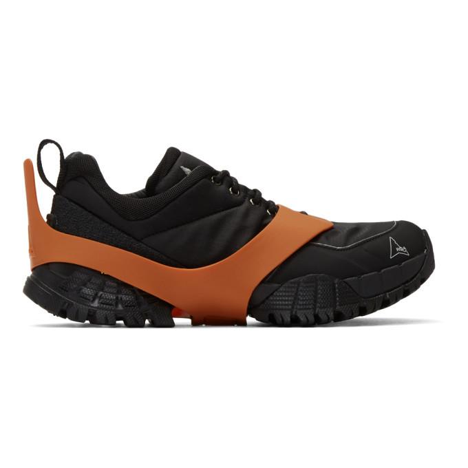 Photo: ROA Black Oblique Sneakers