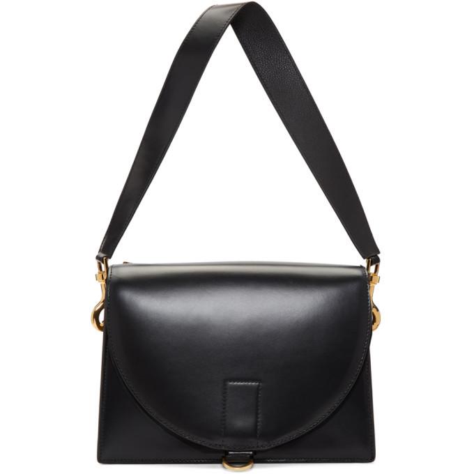 Sacai Black New Satchel Hybrid Bag