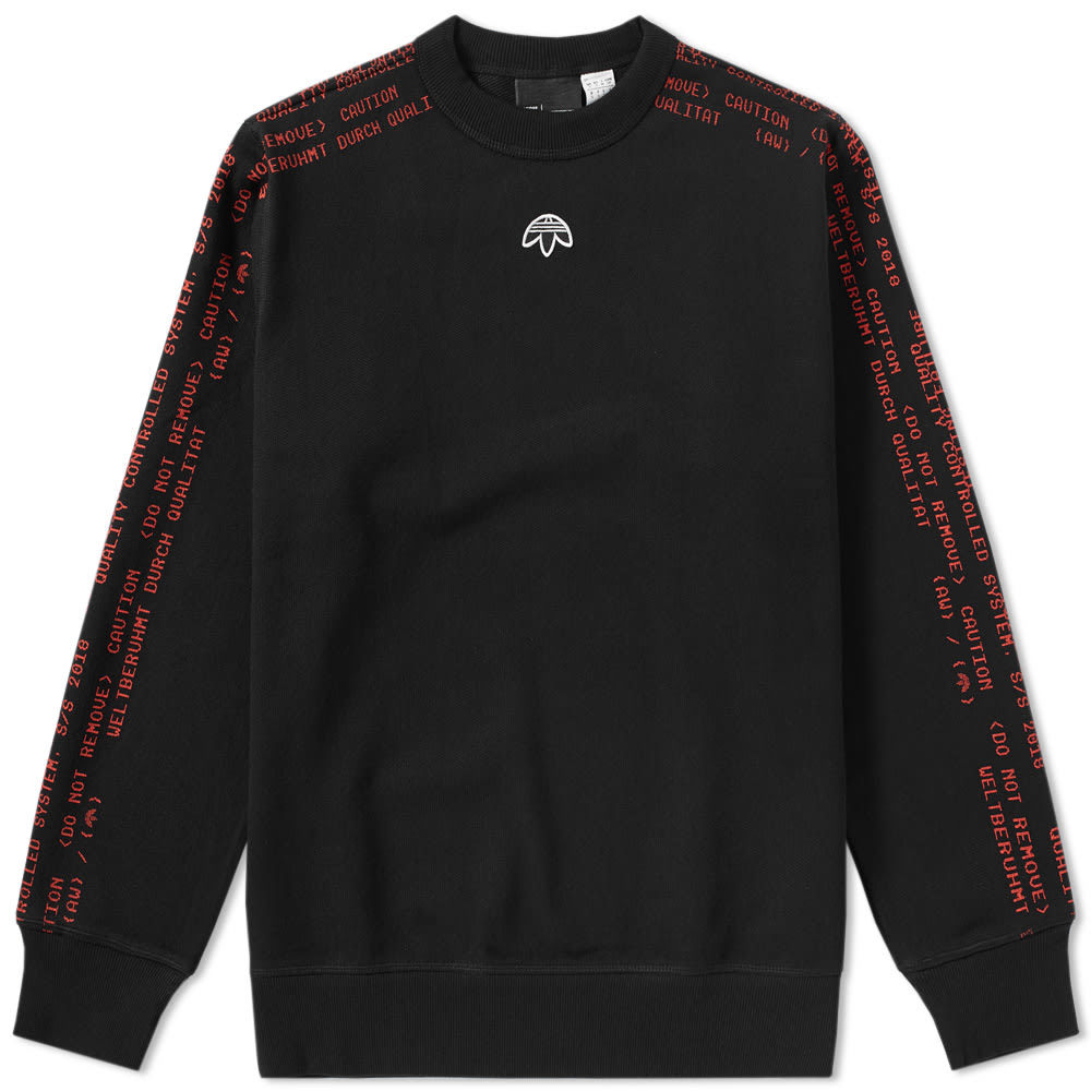 Adidas Originals by Alexander Wang Crew Sweat Black